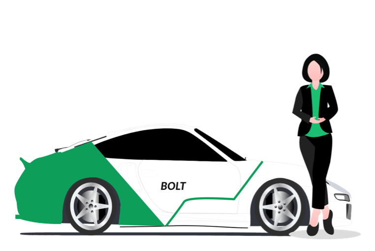 Online Cab Booking App Development | Get An App Like Bolt, Taxify