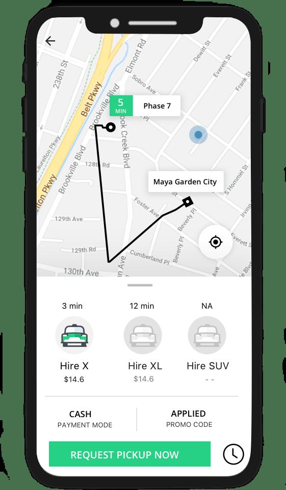 Online Cab Booking App Development | Get An App Like Bolt, Taxify